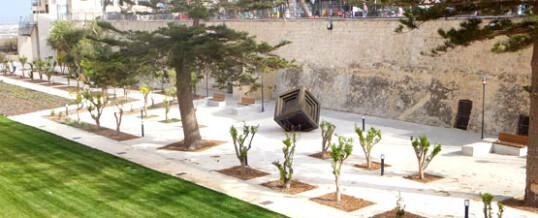 Mdina Ditch Project finalist for European Garden Award